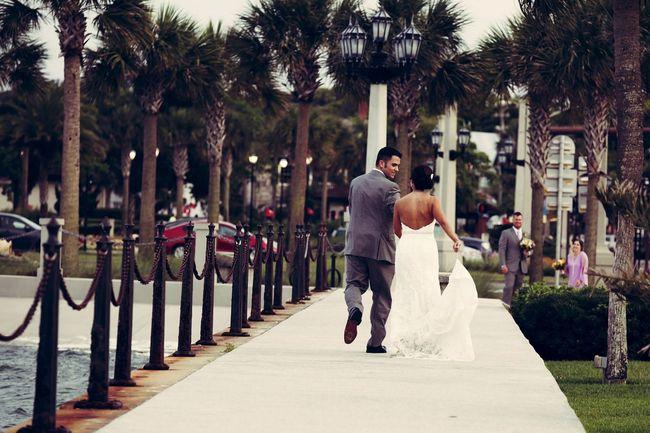 Couple Newlyweds People Happy Love