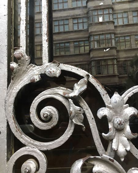 Building Exterior Architecture Built Structure Stack Close-up City Façade Heap Focus On Foreground Flower Stationary Outdoors Abundance Berlin Wrought Iron Wroughtiron Wrought Iron Design