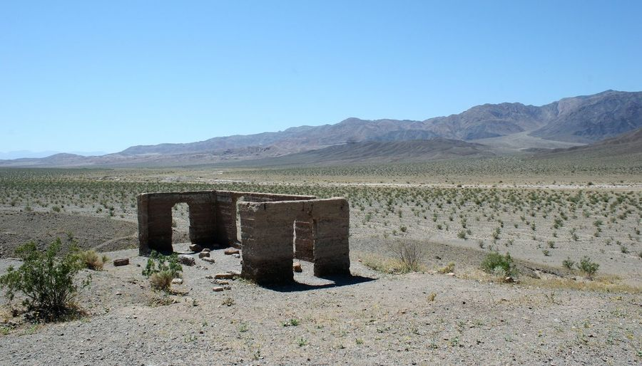 Death Valley - Ashford Mill Ruins, 2010 Ashford Mill Ruins Death Valley Death Valley National Park Death Valley Ruins Life In Death Valley Arid Climate Day Desert Historic Death Valley Landscape Nature No People Outdoors