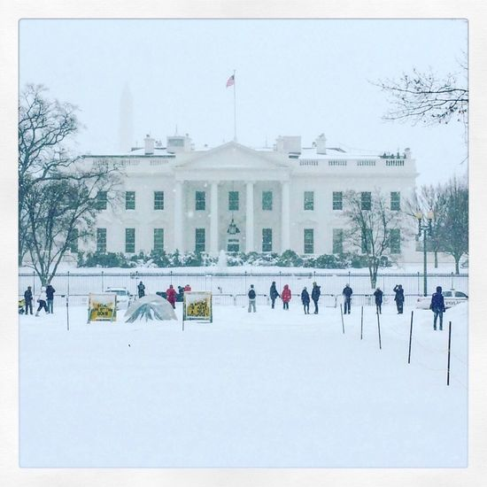 The White House Snow Blizzard2016 Blizzard