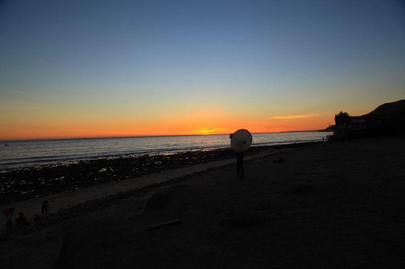 Malibu Beach Sunset California Malibu Losangeles lifestyle Relaxing