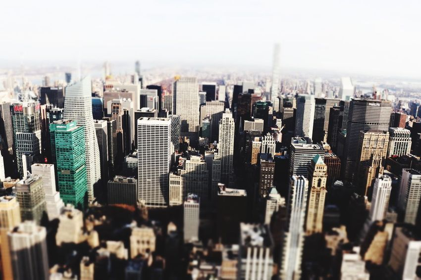 EyeEm Selects Empire State Building Skyscraper Cityscape Modern Architecture Building Exterior City Travel Destinations Urban Skyline No People Aerial View Day Outdoors Be. Ready.