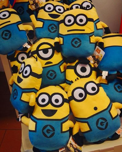 Multi Colored Toys Yellow Minions Minion  Minions ♥♥ Minions 🍌🍌🍌🍌🍌 Despicableme Despicable Me Despicable Me 3Indoors  Despicableme3 Banana No People Close-up Day