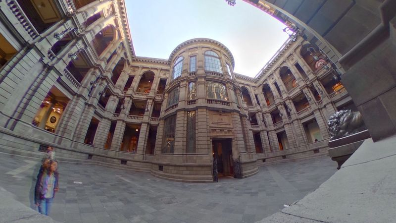 MUNAL Mexico City Architecture Built Structure Indoors  Museum Neoclassic Travel Destinations Wide Angle View