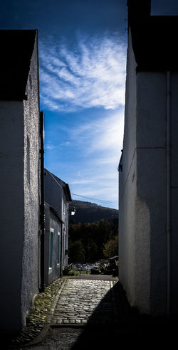 Dunkeld Alleyway Architecture Building Building Exterior Built Structure Dunkeld Exterior Famous Place Guidance House Leading Low Angle View Old Outdoors Perthshire Protection Religion Sky Tall Tall - High Tower