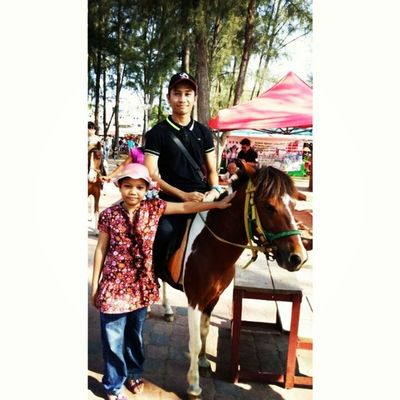 Horse riding. Tb PD