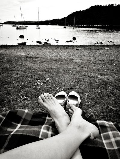 Plaster Legs On The Blanket Grass Lake Plaster Blister Feet Relax Holiday Water Windermere Lake Yacht Boats Stalling Boats May Black And White Without Shoes Cumbria Clouds Huawei p9 Summer Road Tripping The Traveler - 2018 EyeEm Awards