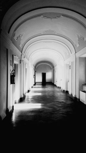 Montecosaro Municipal Building Historical Building Old Buildings Light And Shadow Building Built Structure Architecture My Point Of View Arch Indoors  The Way Forward Architecture Built Structure No People Travel Destinations Day Archway