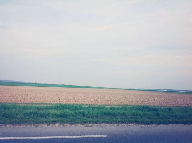 Ma vie est tel que ce paysage sans toi. Vide. Enjoying Life