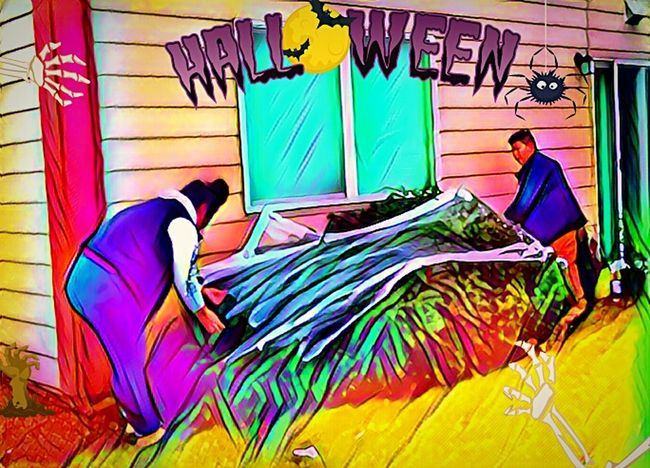 Multi Colored Real People Outdoors Lifestyles Decorating Holiday Halloween_Collection Halloween EyeEm Halloween Decorations Eyeem Market Place Vote For HillaryClinton I LOVE PHOTOGRAPHY EyeEm Best Edits Celebration EyeEm Master Class The Week On EyeEem Fall Collection Wicked Awesome A Dash Of Magic Halloween Spooky Autumn Spectrum Best Of The Best Color Photography