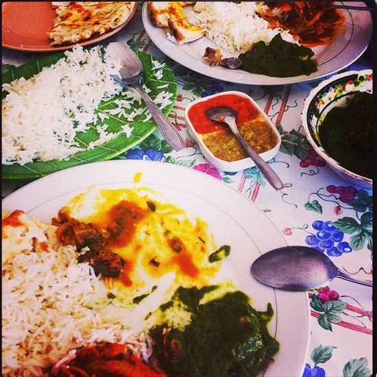 The time we had Indian food for Dinner... Yummiii... Heavy Dinner Rice Etc Likeforlike Followforfollow Followme Followback Filtering Dark Expo2 Brightness High Fullylight