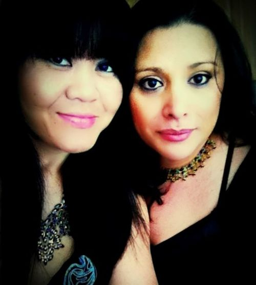 My girlfriend and I, going on 20 years . Hard to find a loyal person who you can trust to be right there when you need her. Bestie  childhood friends Life And Living Color Portrait Woman