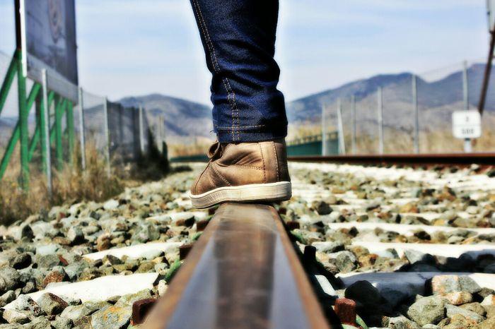 Suelo Vias Shoes Taking Photos