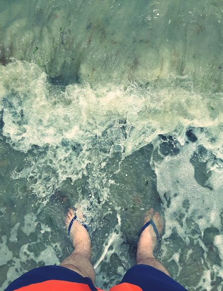 Lancing  Beac  Summer Ocean Sea Waves Relaxation Wave Nature Outdoors Vacations Water Personal Perspective