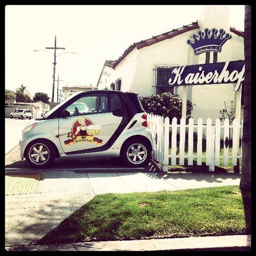 Kaiserhof Amazingness! Look at that Smart Car!!