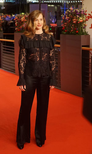 Berlin, Germany - February 24, 2018: Belgian actress Cecile de France attends the closing ceremony during the 68th Berlinale International Film Festival Berlin at Berlinale Palast 68th Berlinale Beautiful Press The Media Actress Arts Culture And Entertainment Beautiful Woman Berlinale Berlinale 2018 Berlinale Festival Berlinale2018 Berlinale68 Cecile De France Cinema Fashion Front View International Film Festival Looking At Camera Mass Media One Person Portrait Red Carpet Red Carpet Event Smiling Standing
