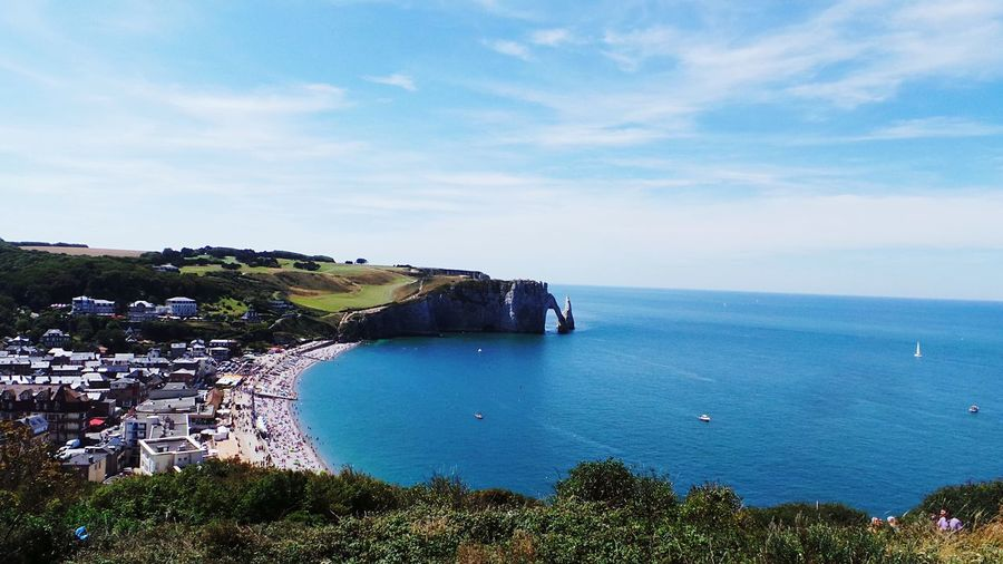 Beach Beautiful Nature Beach Photography Relaxing Taking Photos Beautiful Sky Mountains Beach Life View From Above View Sea Sea And Sky Entretat, France Normandie, France Up The Hill Mountain View Perspectives On Nature