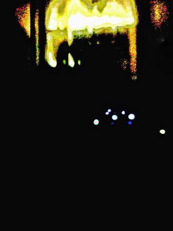 night Abstractphotography Nightcapture Illuminated Close-up