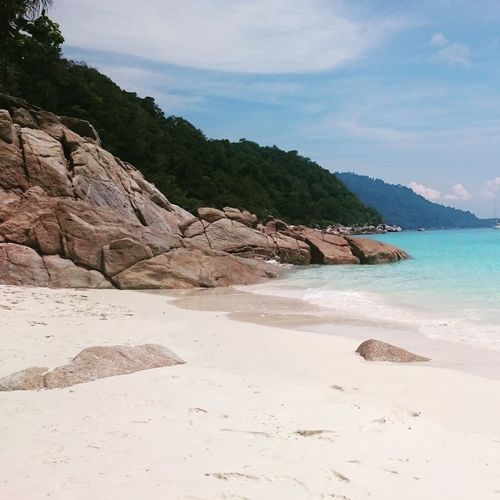 Malaysian Island Sun Sand Softness Clearwater Beach No People Vacations