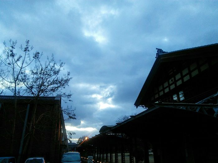 Eveningscenery 夕空 Kanazawa,japan Scenery Shots Ishikawa, Japan Winterscapes Moment Beauty In Nature Around Town Cloud - Sky Park Landscape Scene Trees And Nature Outdoors 公園散歩 Relaxing Architecture Built Structure Outdoors Cloud - Sky Sky Building Exterior No People