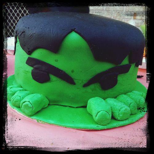 Hulk Cake Avengers