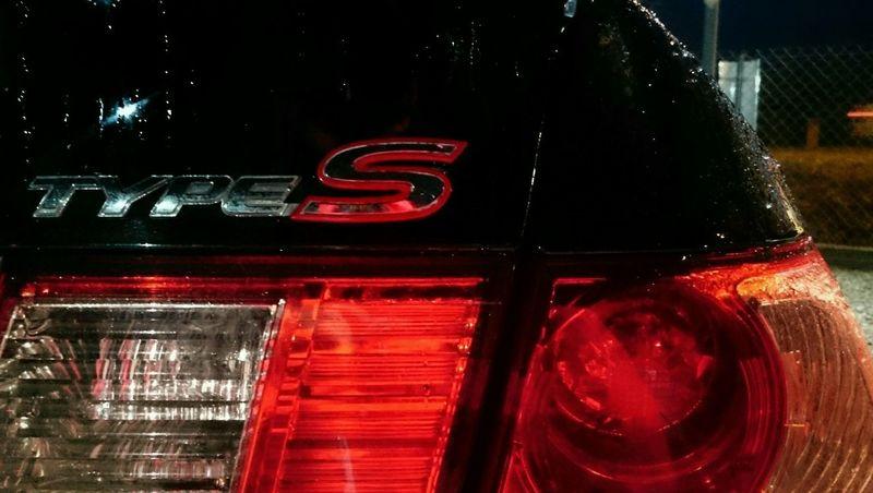 Honda Accord Type S Black