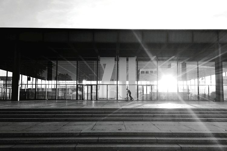 Sunset Architecture_bw Streetphoto_bw Berlin Bmx
