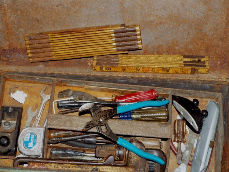 Mechanical Things Rust Building Close-up Day Equipment Hand Tool Indoors  No People Plier Ruler Tools Work Tool Wrenches