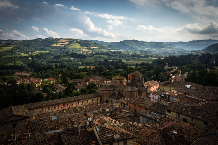 Brisighella, Italy Brisighella Italy Italia Emiliaromagna No People Outdoors Architecture Sky Mountain Built Structure Building Exterior Cloud - Sky Building Nature Tree Roof Residential District High Angle View Environment Landscape Community Day Town TOWNSCAPE