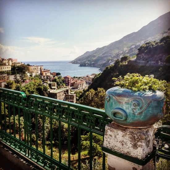 Vietri Sul Mare Vietrisulmare Costiera Amalfitana Costiera Panorama Vietri