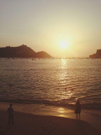 Sansebastian Sanse Summer Sunset SPAIN