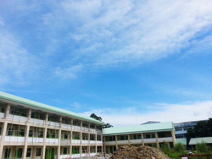 Nature Sky Outdoors School School Projects Blue Sky Blue Color Blue Sky And Clouds Scenics Skies Has No Limit Dreams