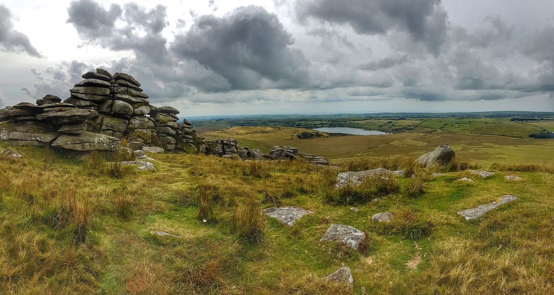 Roughtor Roughtor, Beauty In Nature Bodmin Moor Green Color Landscape Nature No People Outdoors Rock - Object Tranquil Scene Tranquility