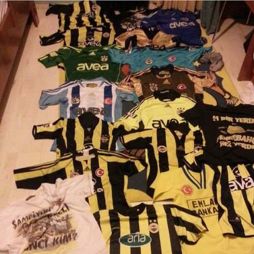 Fenerbahce  Fenerbahçe SK Everdayfenerbahce Sarikanarya Sari Yellow Lacivert NavyBlue Aşk Love Koleksiyon Collection Forma T-shirts Kadikoy