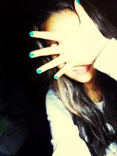 smalto verdee♥∞ Buonpomeriggio :)