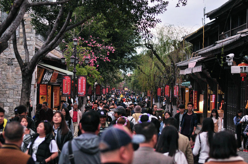Crowd Streetphotography Street Large Group Of People OutdoorsTree China View Culture Real People Day Walking Let Me Free in Oldtownin China The Street Photographer - 2017 EyeEm Awards
