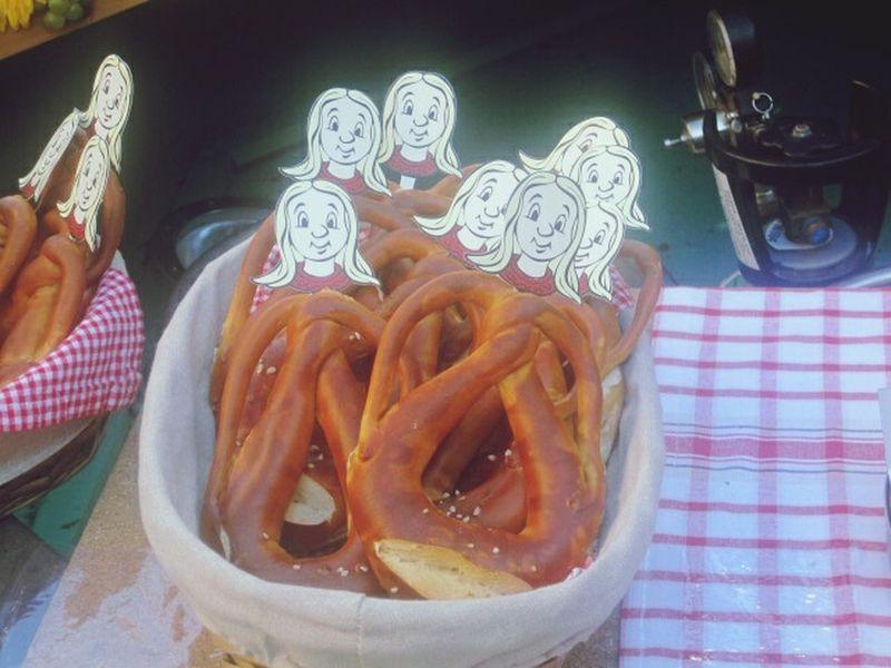 Bretzeln Pretzels Food Cibo