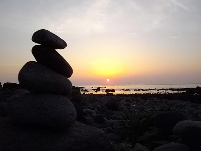 早朝観光。真鶴岬からの朝陽を眺めて来ました♪ Early morning Shightseeing. Sunrise at Mazurucape. Absorbing