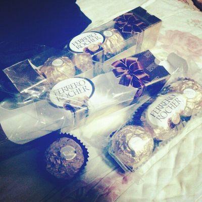 ThankU Ferrerorocher Chocolete i luv sweetes