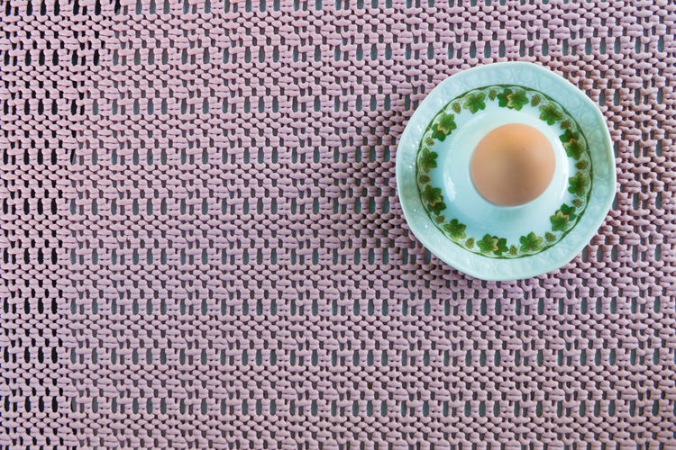 boiled egg for breakfast on old fashioned pink plastic placemat Breakfast EyeEmNewHere Old Fashioned Pink Retro Boiled Egg Egg Placemat Plastic Retro Styled