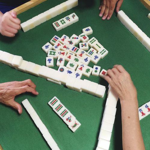 A Game of tiles, Mahjong National Sports Symmetry