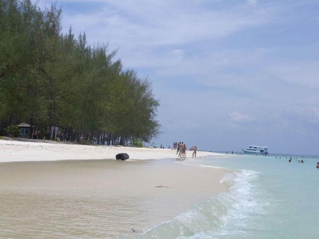 Andaman Islands Andaman Sea Beauty In Nature Blue Bluesky Day Green Sea Krabi Nature Outdoors Thailand Thailand_allshots_nature Tranquility