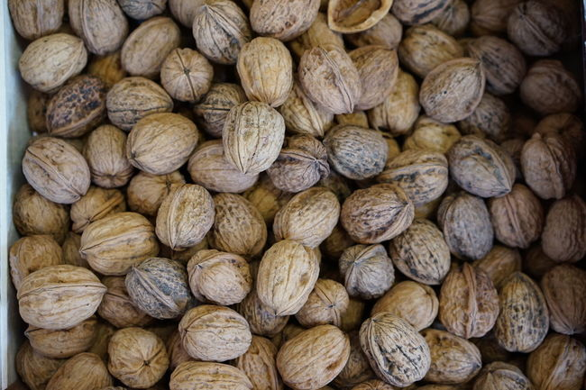 A Large Group Of Objects Backgrounds Close-up Freshness Full Frame Healthy Eating Large Group Of Objects Market Nuts Shop Supermarket Walnuss Walnut Walnuts Walnüsse