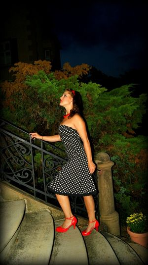 It's Me Red Nightphotography Cinderella