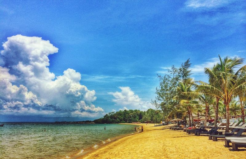Colorful beach :) Beach Colors Landscape Blue