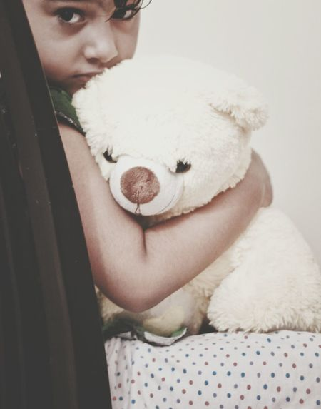 In Your Eyes... my Teddy Bear My Baby Sadness Cute Baby Sadness😢 The Human Condition Me And My Teddy Bear