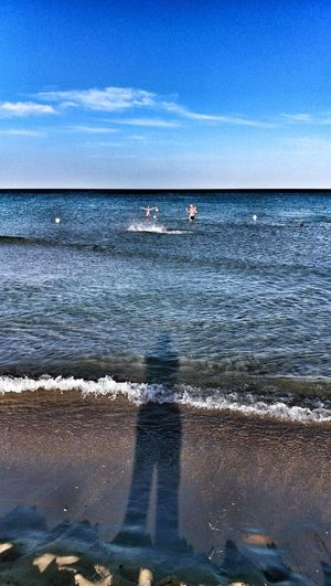 Horizon Over Water Sea Beach Water Eye4photography  Sicilia Sicily Splash
