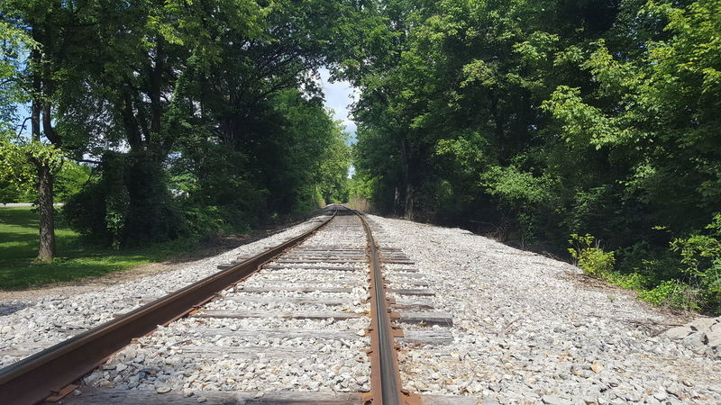 The Way Forward Outdoors No People Railroad Track My Point Of View Low Angle View Solitude Paths Of Life Kentucky