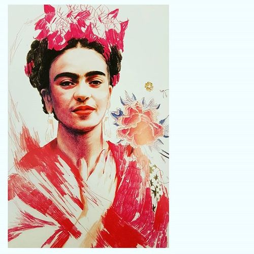 I love this picture Fridakahlo Khalo Arte Art Picoftheday Picture Frida Bestoftheday Bestartfeatures
