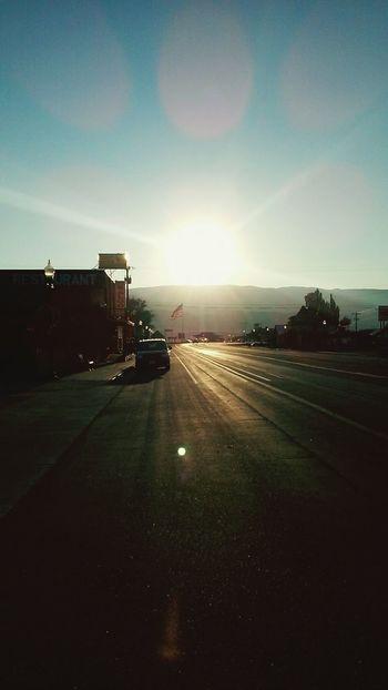 Sunset ☀ USA FLAG Good Day Wandern & Hotpools Beste Mischung ??